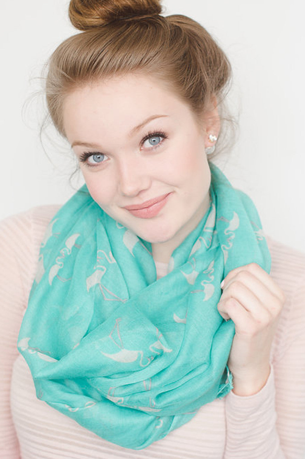 FLAMINGO INFINITY SCARF *3 color options