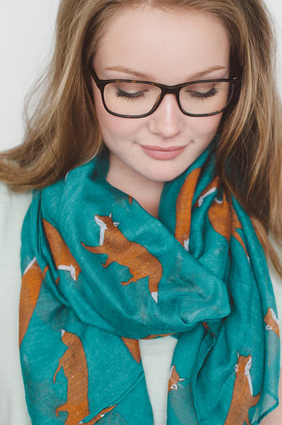 FOX SCARF  *2 color options