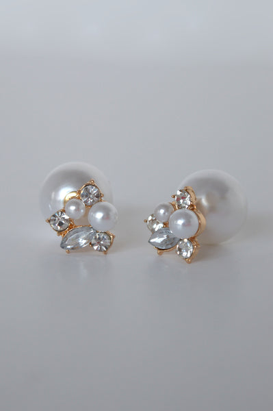 MODERN VINTAGE DOUBLE TAKE EARRINGS