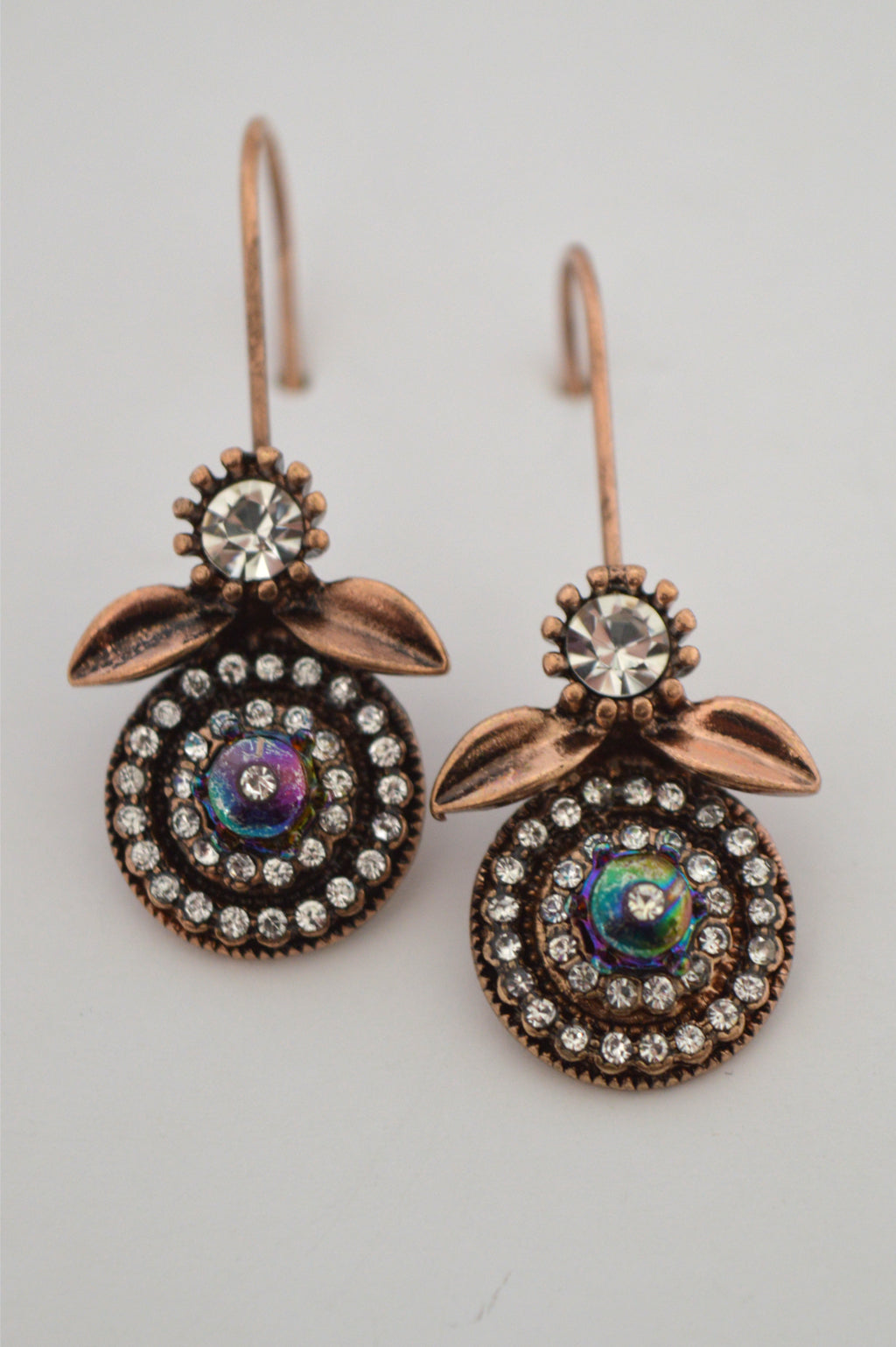 VINTAGE PETAL EARRINGS