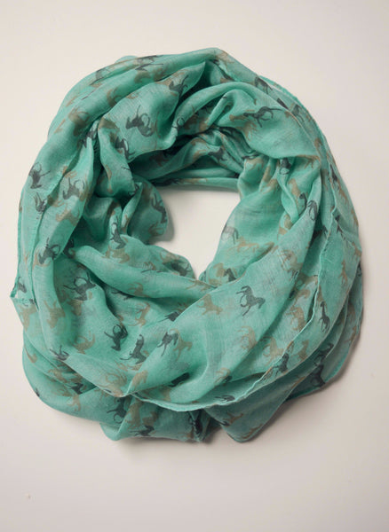 HORSE INFINITY SCARF *2 colors available