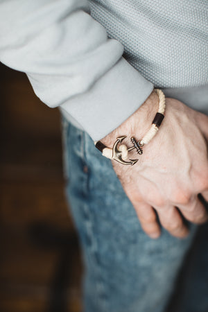ROPE ANCHOR BRACELET - UNISEX