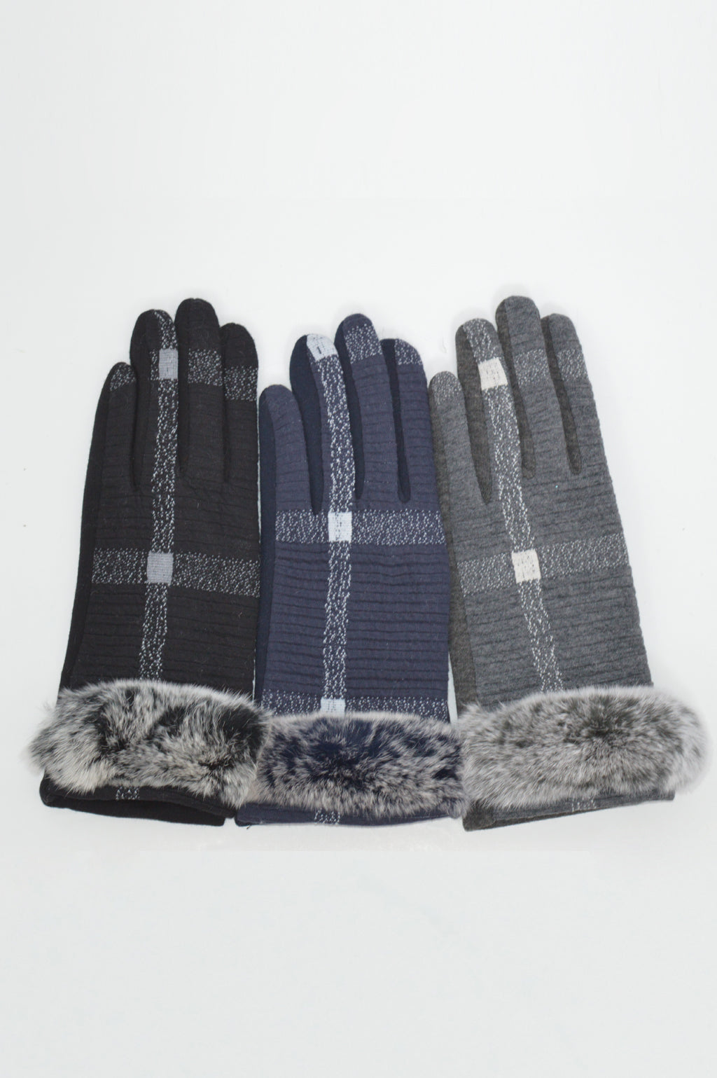 PLAID GLOVES