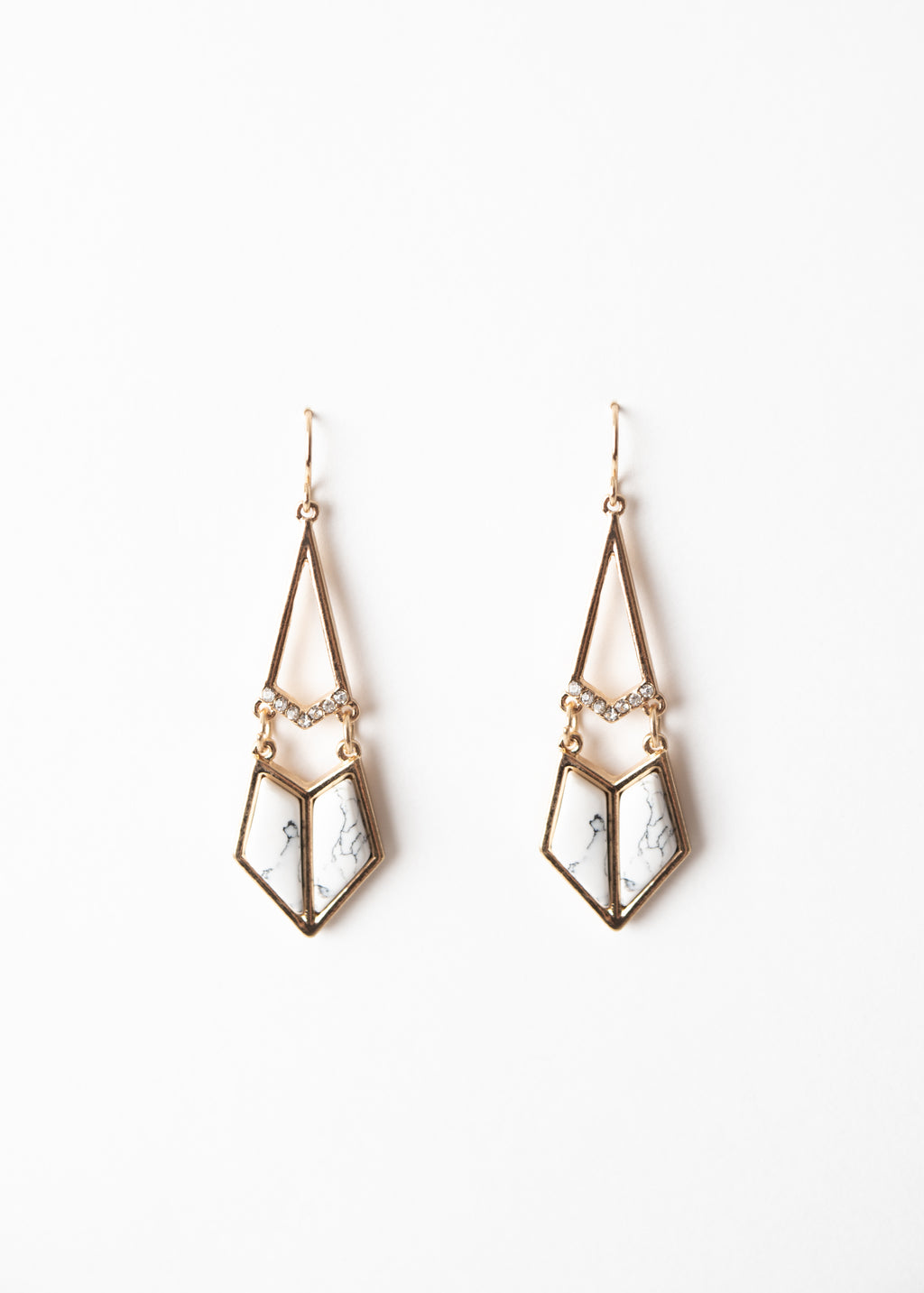 MARBLE PARADISE DANGLES