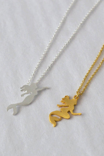 MERMAID SILHOUETTE NECKLACES
