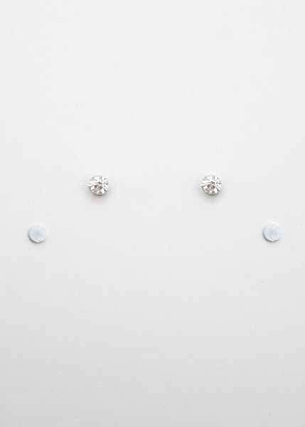 Beck & Boosh Magnetic Rhinestone Studs Classic Rhinestone Studs with Magnetic Backing