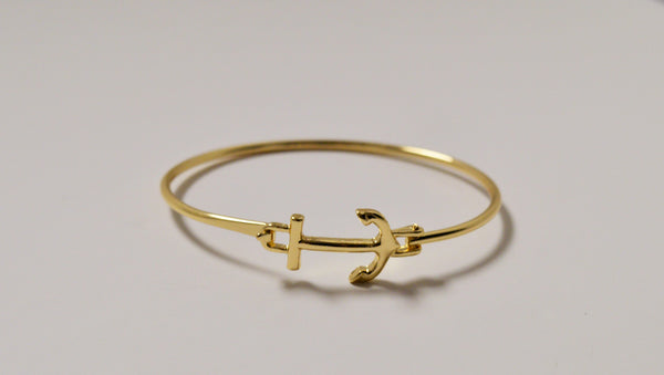 SIDEWAYS ANCHOR BRACELET