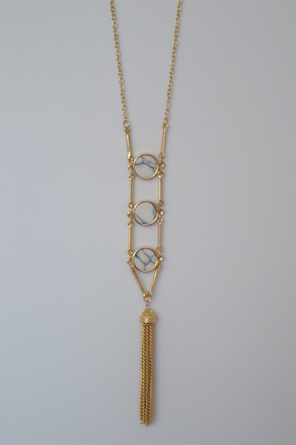 MARBLE TRIO NECKLACE