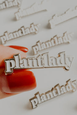 Plant Lady Lapel Pin