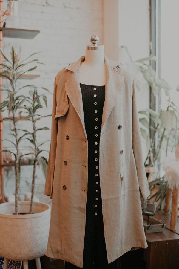 Lucinta Trench Coat