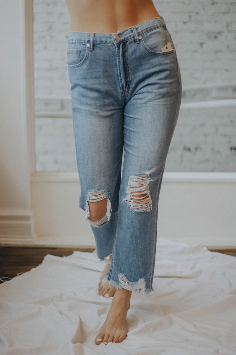 Kingsley Straight Leg Jeans