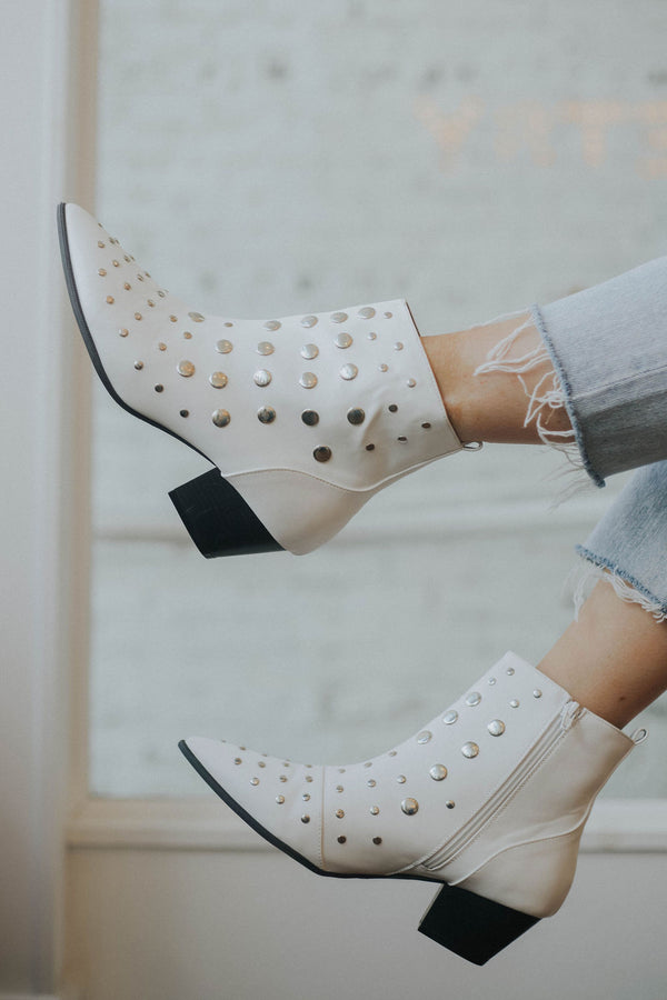 Tezza Studded Booties