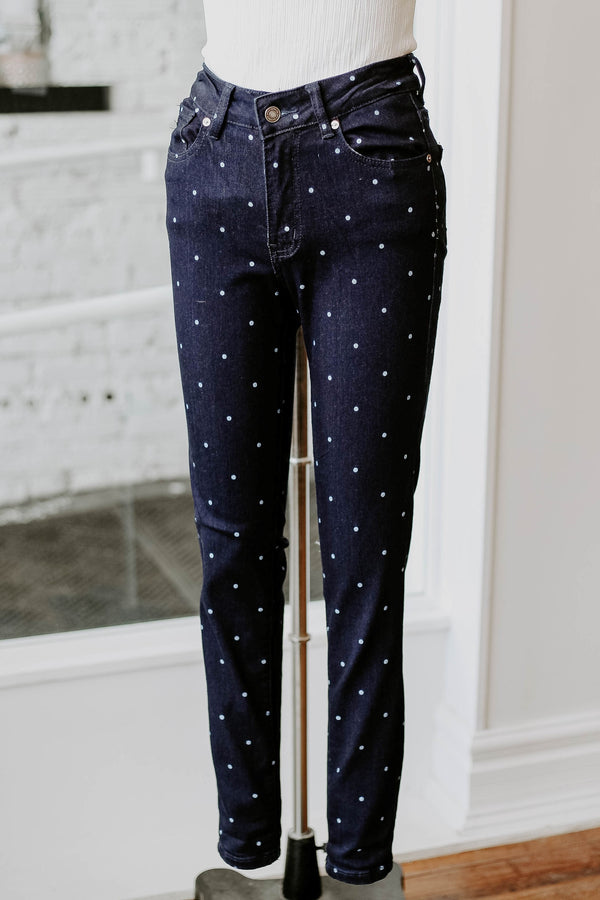 May Polka Dot Denim