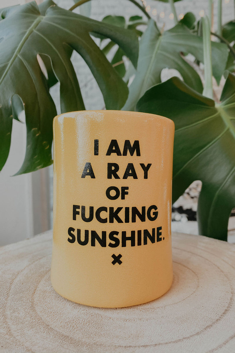 Ray of Sunshine Koozie