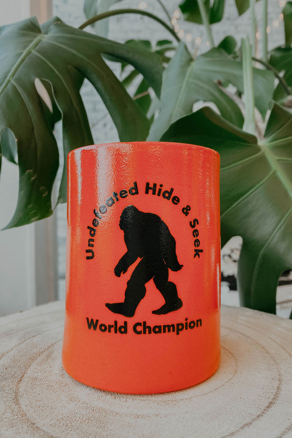 Bigfoot Koozie