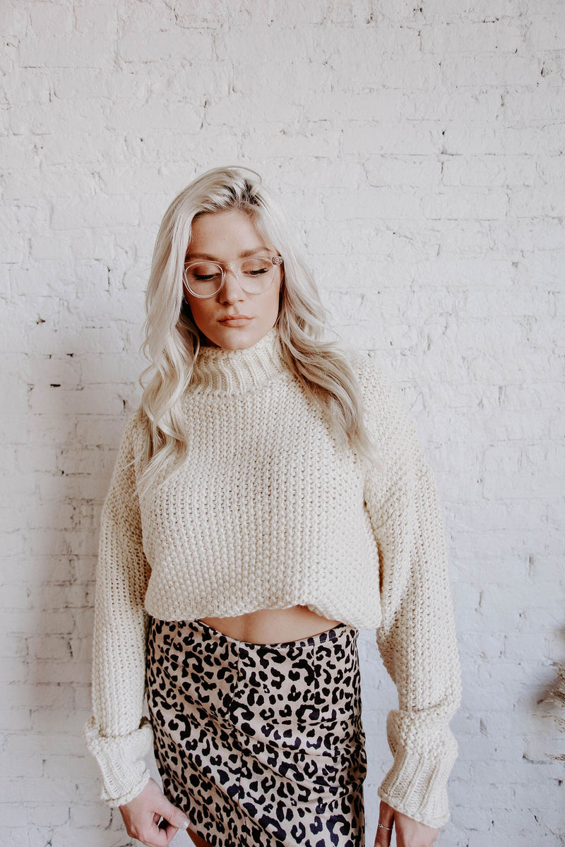 Piper Mock Neck Sweater