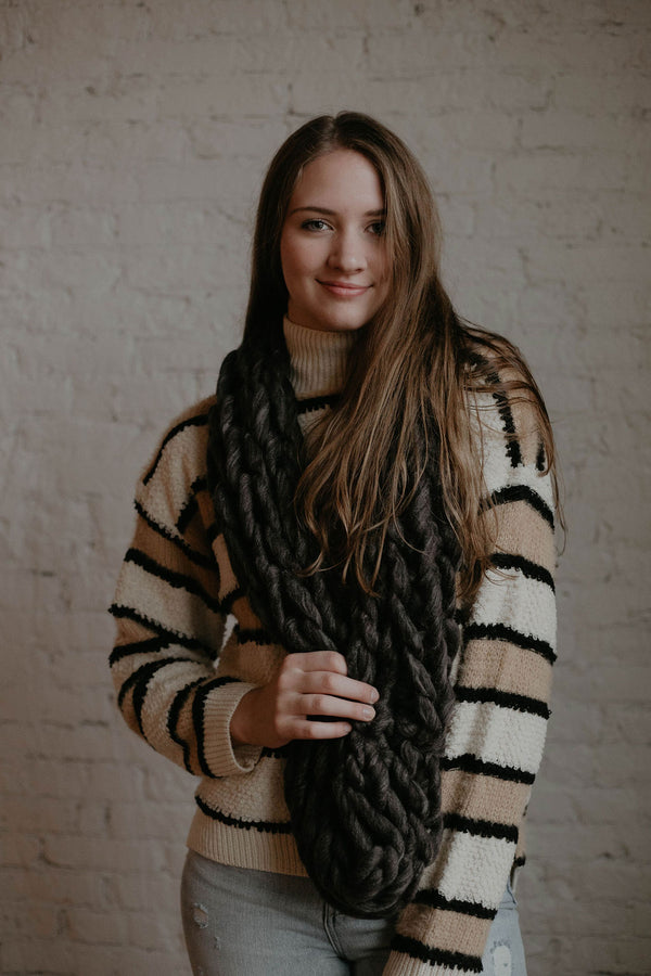 Stocking Stuffer :: Jack Frost Infinity Scarf