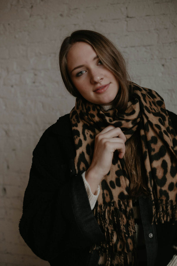Stocking Stuffer :: Miracle Leopard Scarf