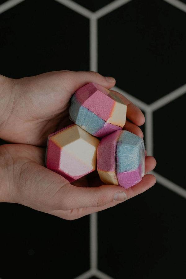 Stocking Stuffer :: Rainbow Gem Bath Bomb