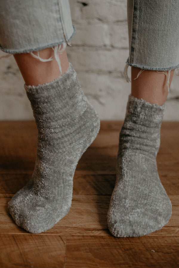 Stocking Stuffer :: Snuggle Chenille Socks