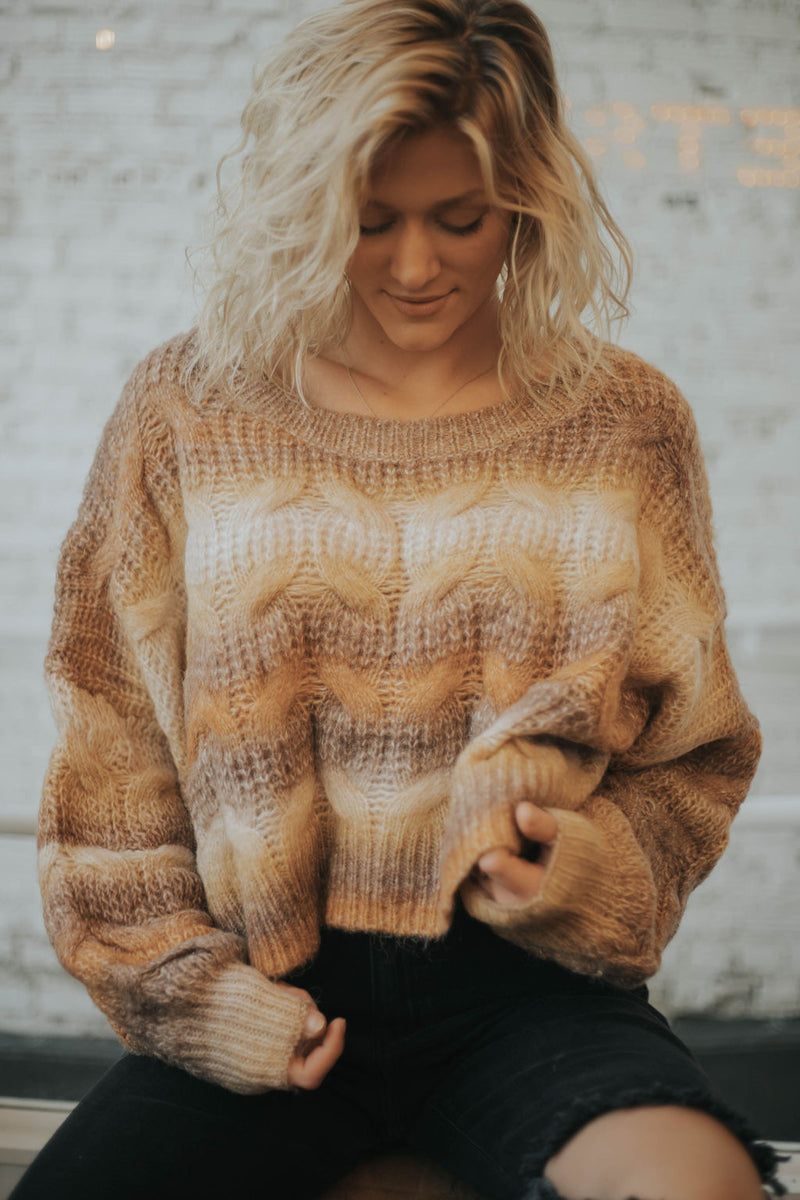 Sugar + Spice Sweater - 2 colors!