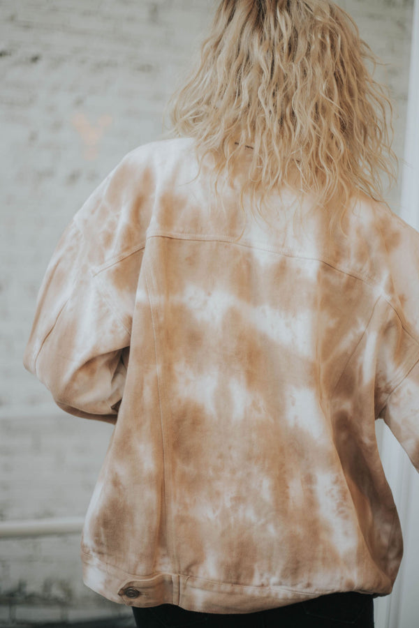 Swift Tie Dye Denim Jacket