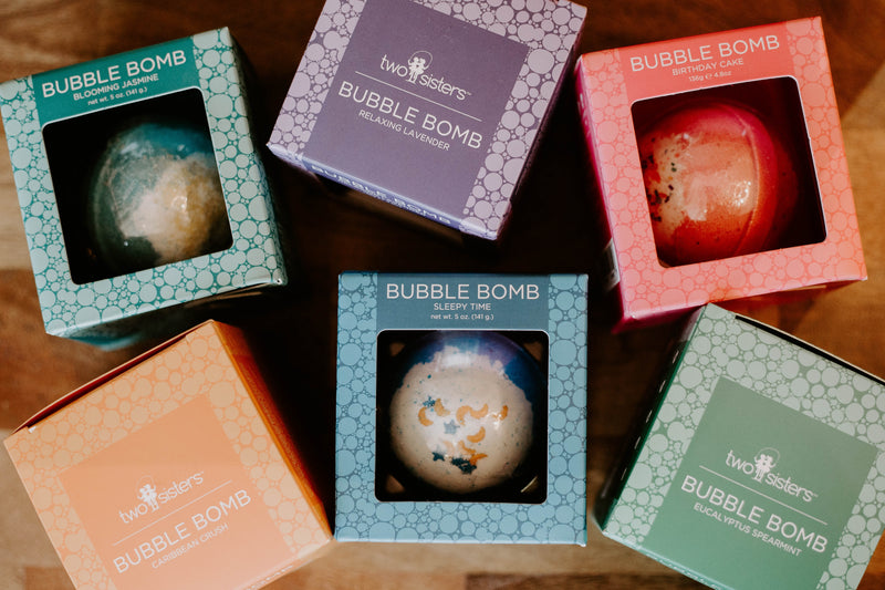 Bubble Bath Bombs - Two Sisters