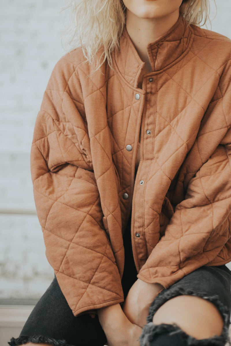 Maya Quilted Jacket - 2 colors!