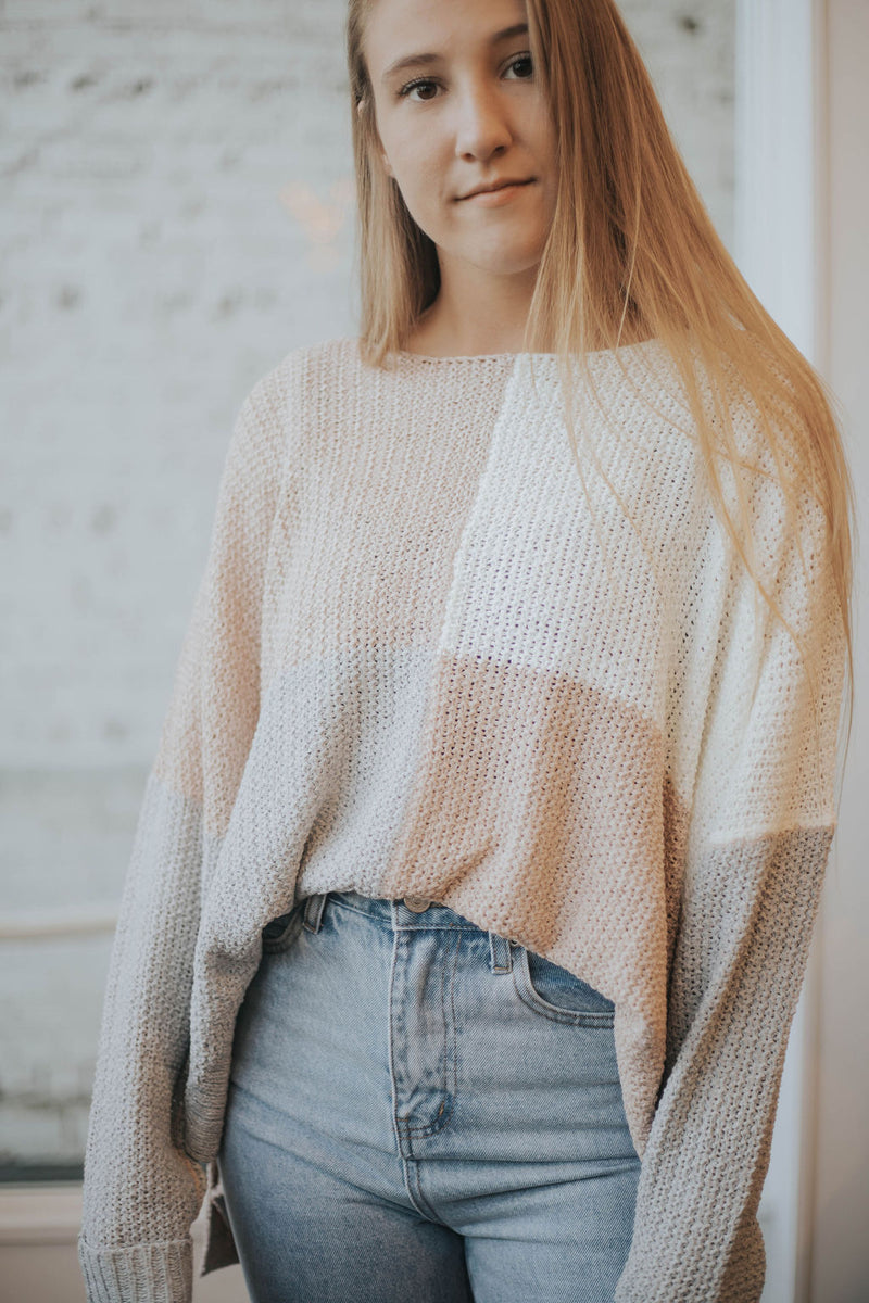 Jenny From The Block Sweater - 2 colors!