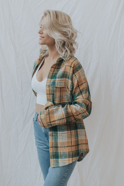 Kenzie Plaid Shacket