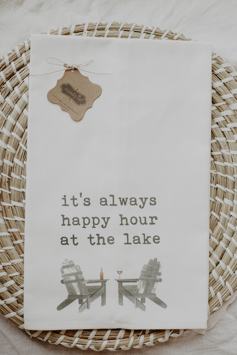 Lake Tea Towels