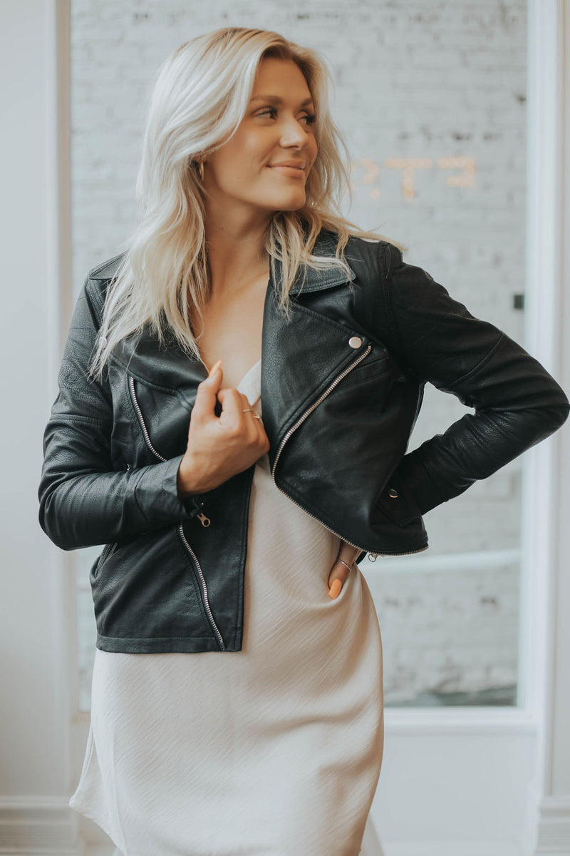 Austin Leather Jacket