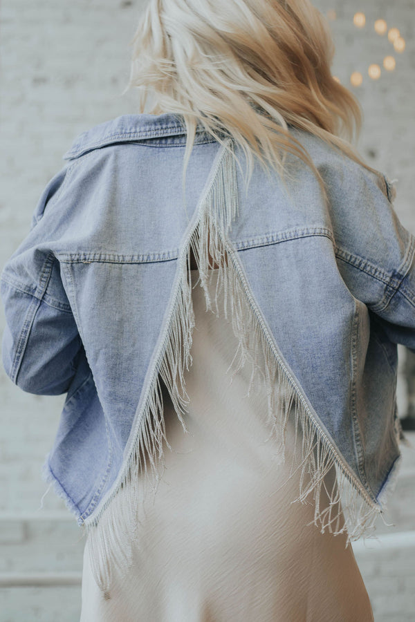 Soul on Fire Denim Jacket
