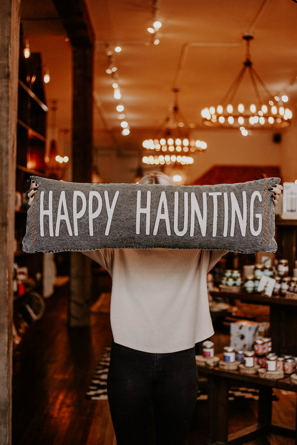 Happy Haunting Pillow