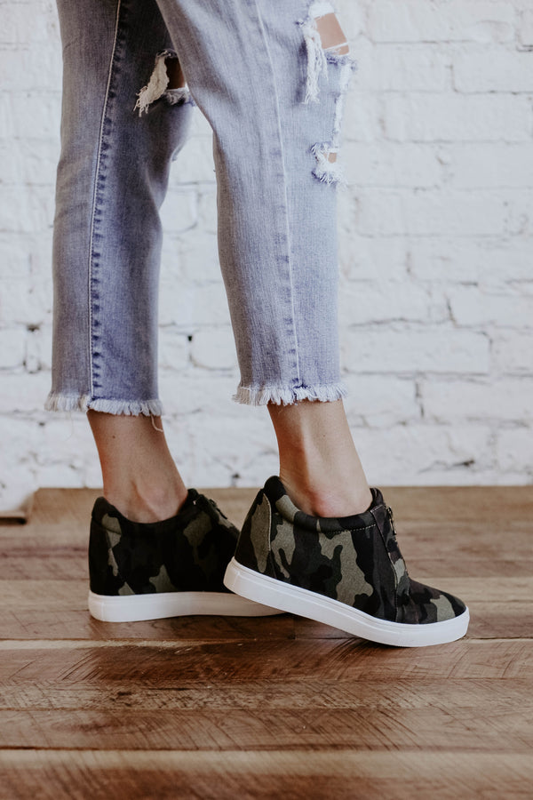 River Wedge Sneakers