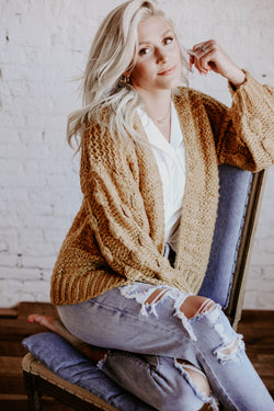 Cuddle Cardigan - multiple colors available