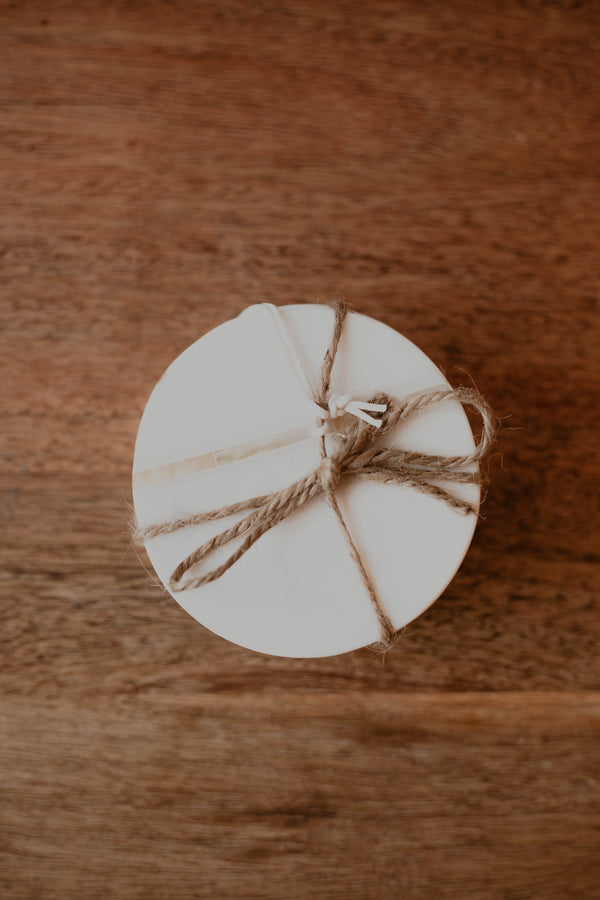 Rounders Marble Coasters, set of 4