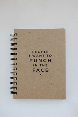 Face Punch Journal