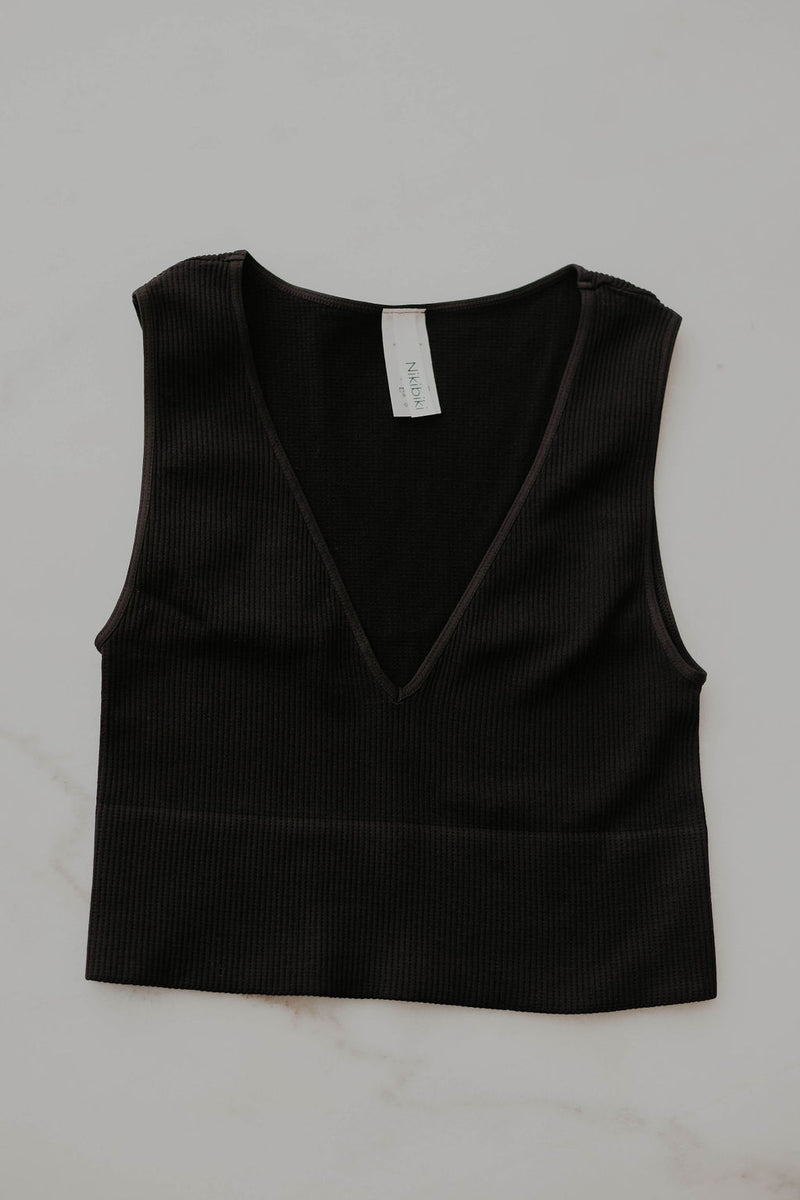Deja Basic Crop Top