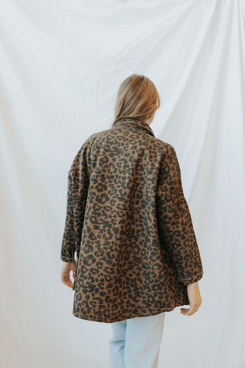 Feelin It Leopard Shacket