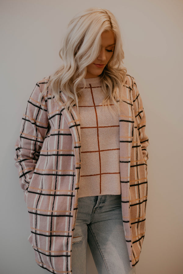 Eve Checkered Jacket (O+P)