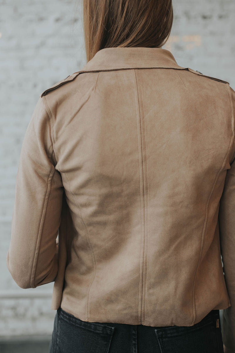 Shyanne Suede Jacket -  2 colors