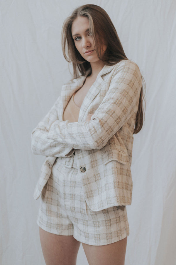 Piper Plaid Blazer