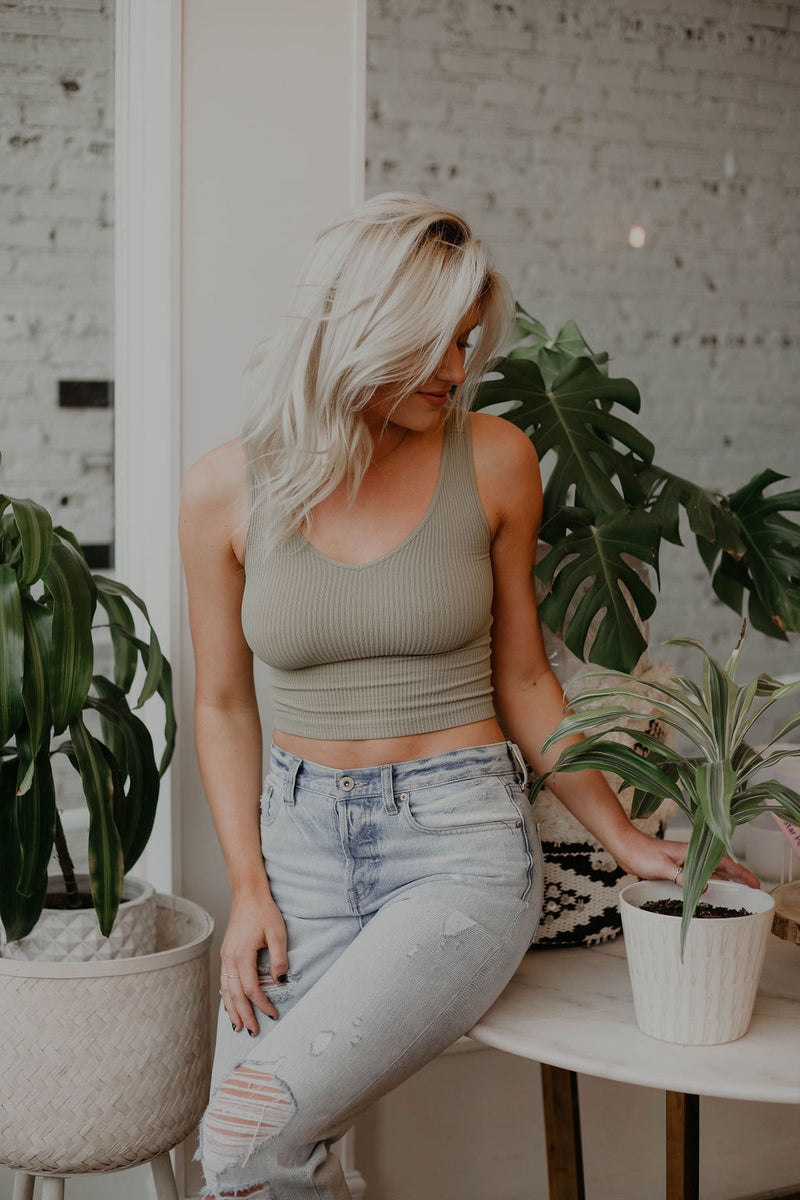 SIGN UP FOR RESTOCK! - Arya Basic Crop Top