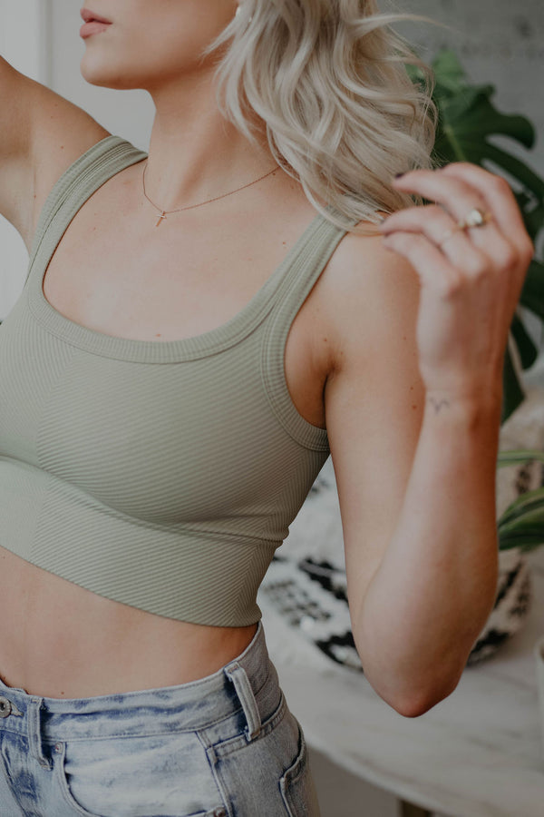 SIGN UP FOR RESTOCK! - LuLu Basic Crop Top
