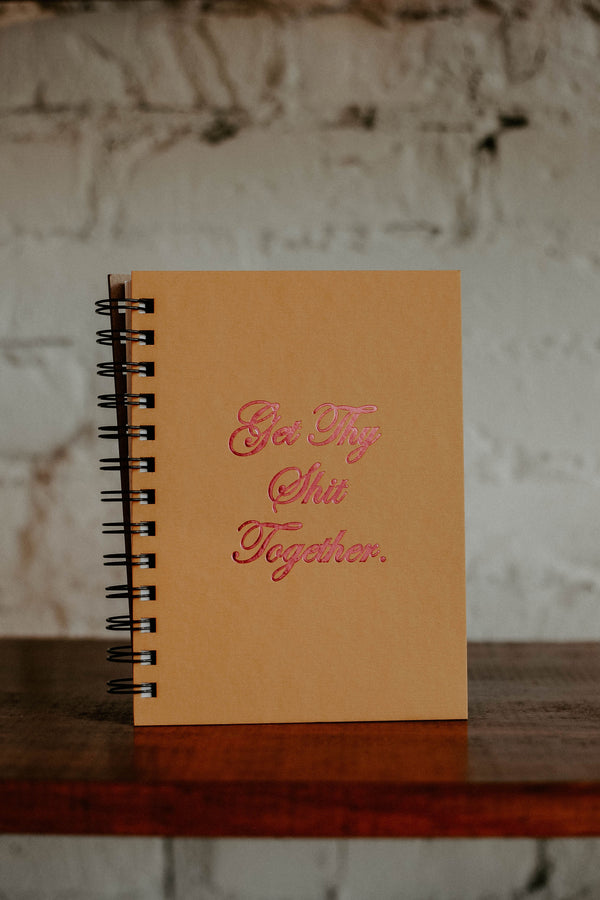 Thy Shit Together Journal
