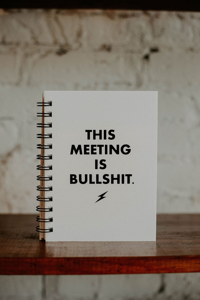 This Meeting is Bullshit Journal