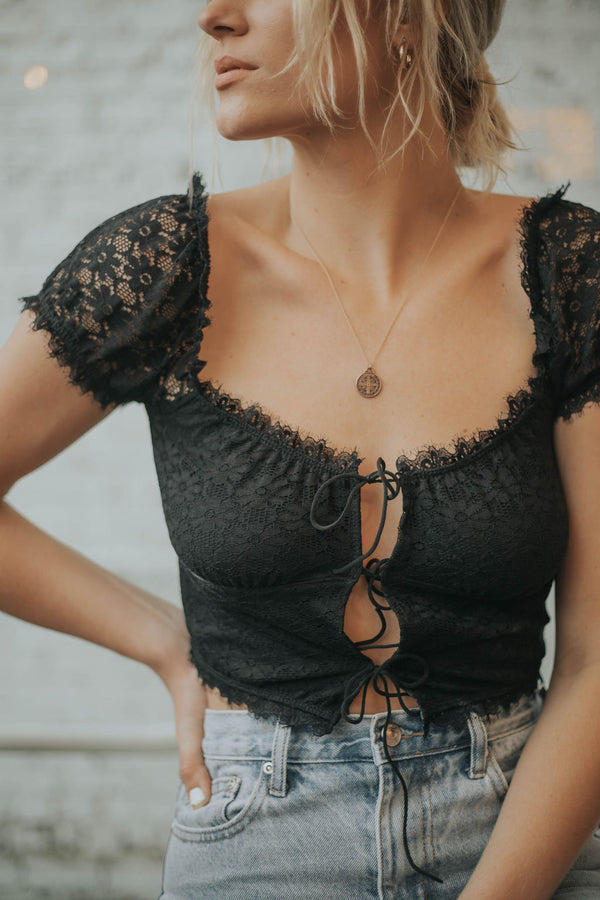 Wednesday Lace Top