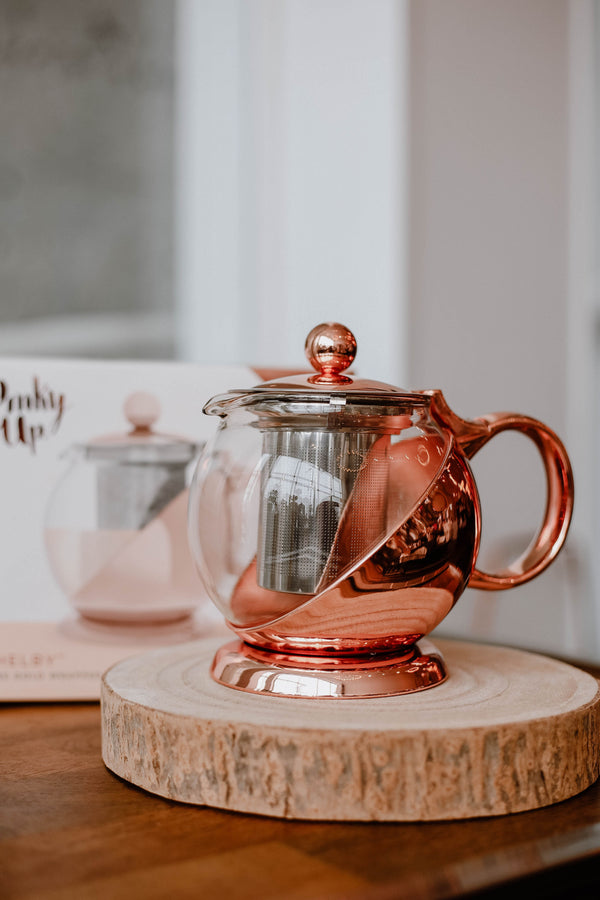 Rose Gold Teapot