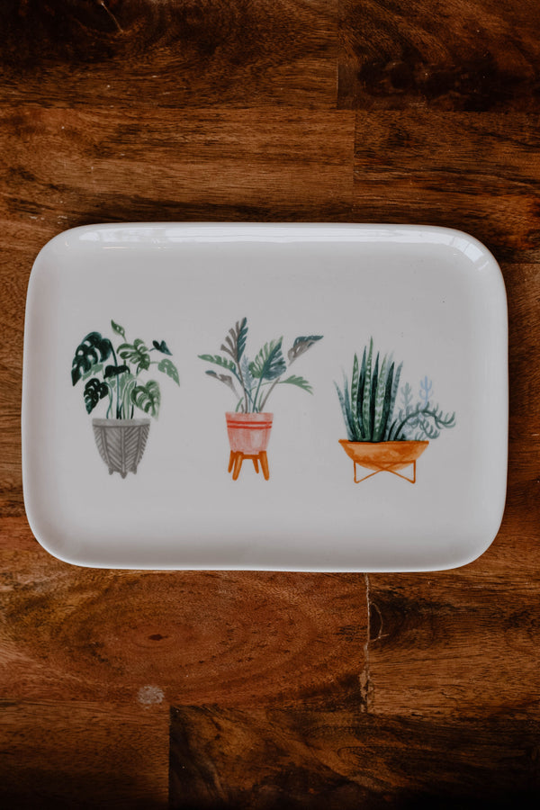 Potted Plants Platter